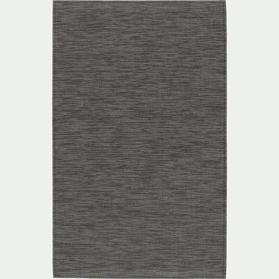 Tapis de cuisine effet tissé - brun albe 50x80cm-VITOU