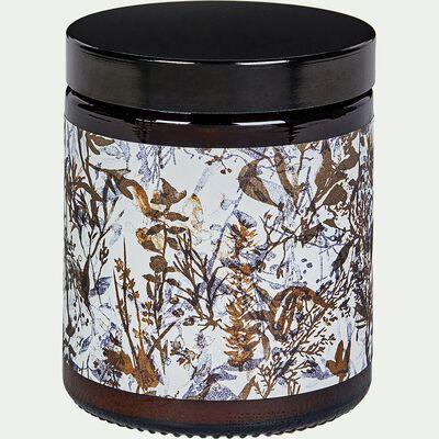 Bougie végétale parfumée senteur cèdre 140g-Madrague