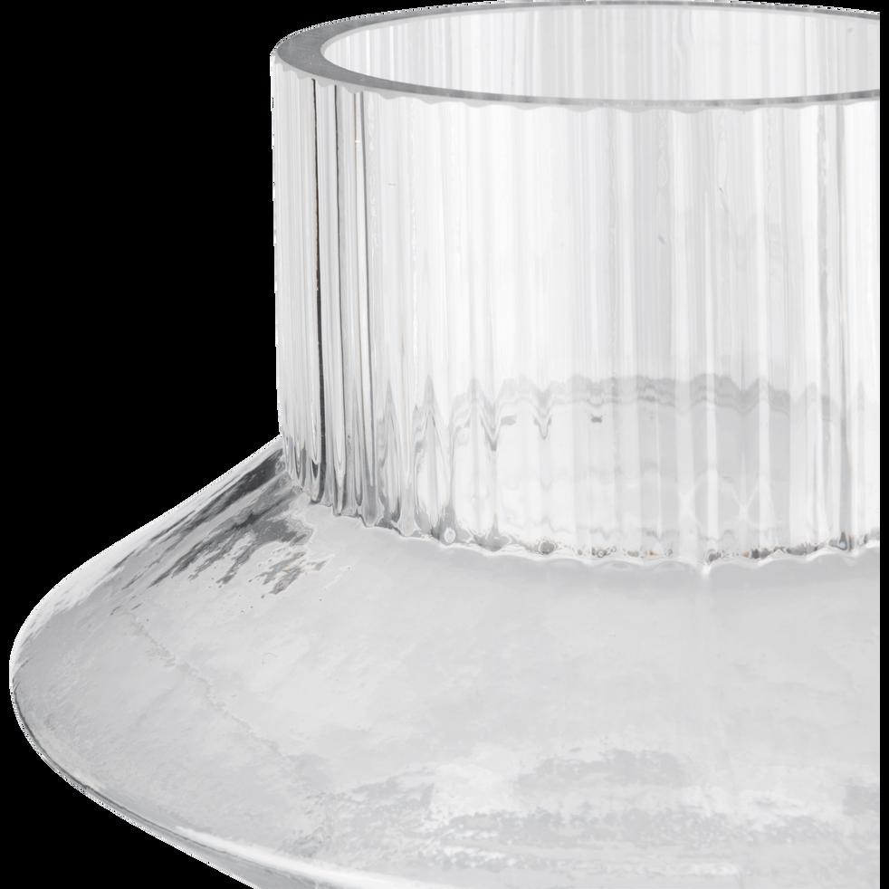 Vase en verre H29cm-PIAVE