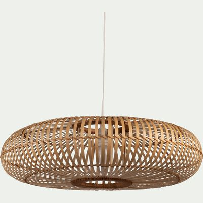 Suspension en bambou - D45xH18cm-ELEANA