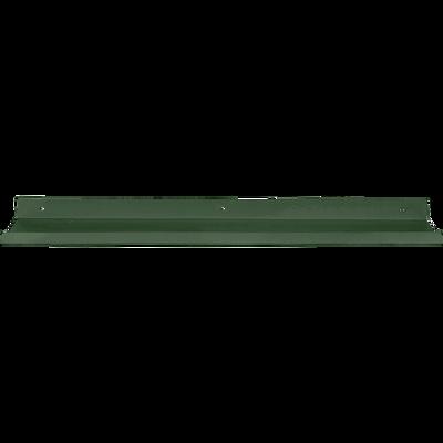 Etagère murale en acier verte L60xl10xH3cm-AGY