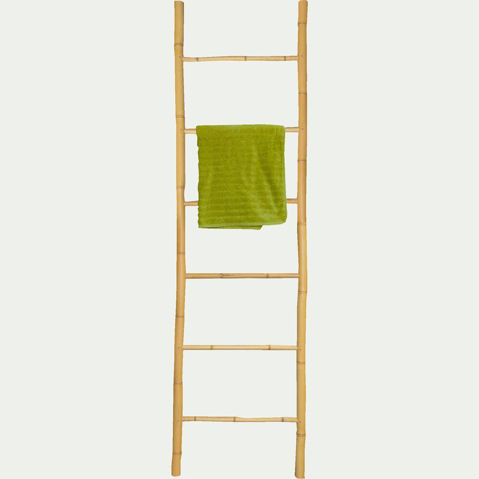 Porte-serviettes échelle en bambou - naturel H190cm-CIRO