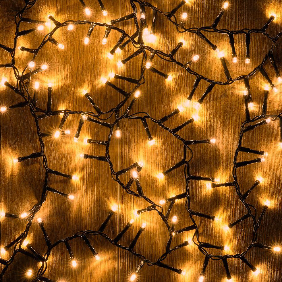 Guirlande électrique - D10x1400cm jaune-ANDRIA