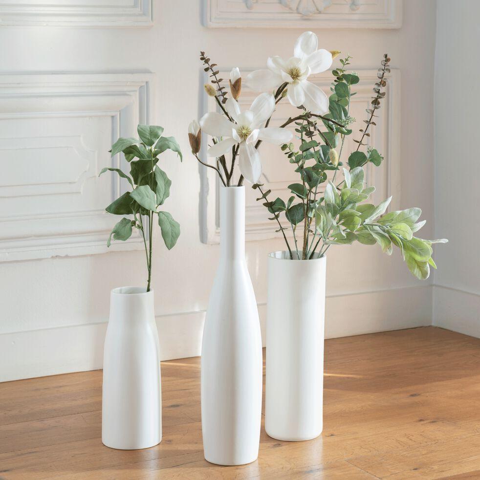 Branchage artificiel blanchi H80cm-EUCALYPTUS