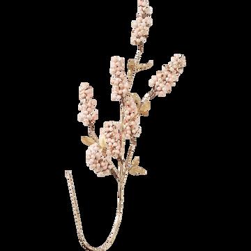 Branche artificielle rose poudré L70cm-HOI