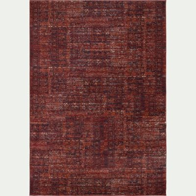 Tapis à motifs - rouge sumac 160x230cm-ANNOUK