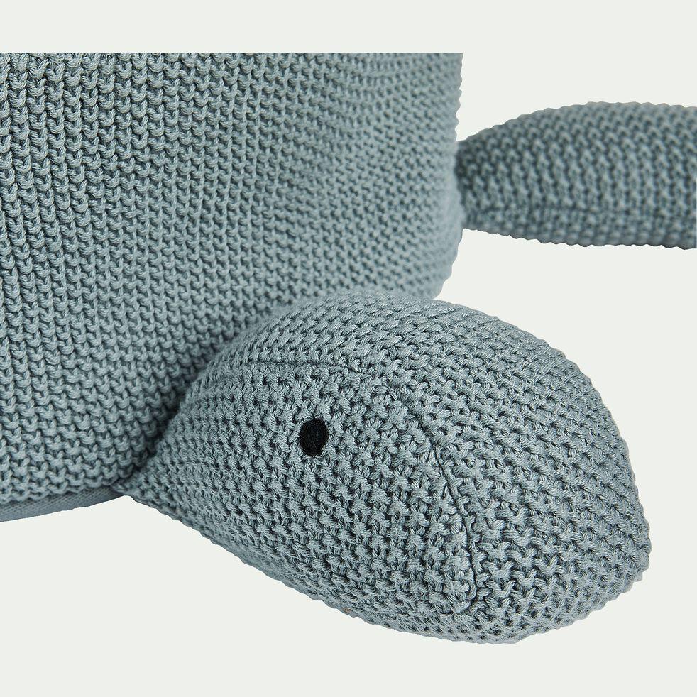 Panier tortue en coton bio - vert-Lorena