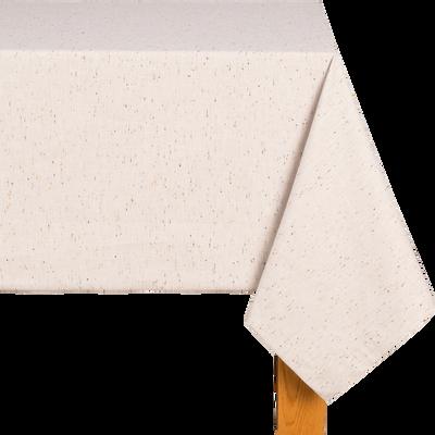 Nappe en coton beige 170x250cm-AMALFI