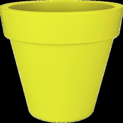 Cache-pot Elho vert en plastique H89xD100cm-PURE