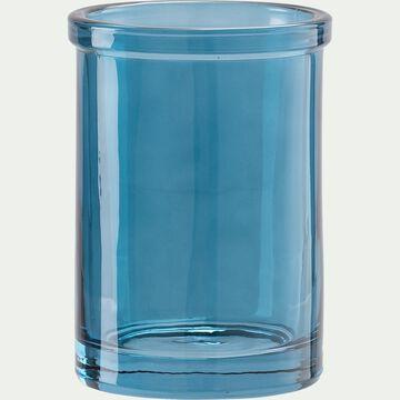 Porte brosse à dent en pierre - bleu niolon-MIMOSA