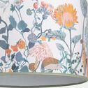 Abat-jour motif prairie d35cm - multicolore-Sero