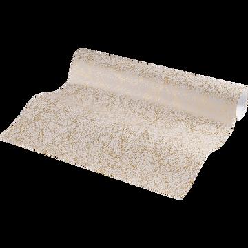 Papier peint à motifs dorés 10m-Ginko