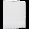 Store enrouleur voile blanc 140x250cm-VOILE