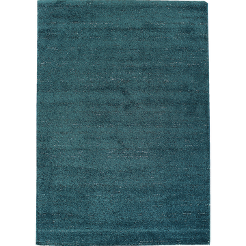 Tapis bleu canard moucheté 200x290cm-STESSY