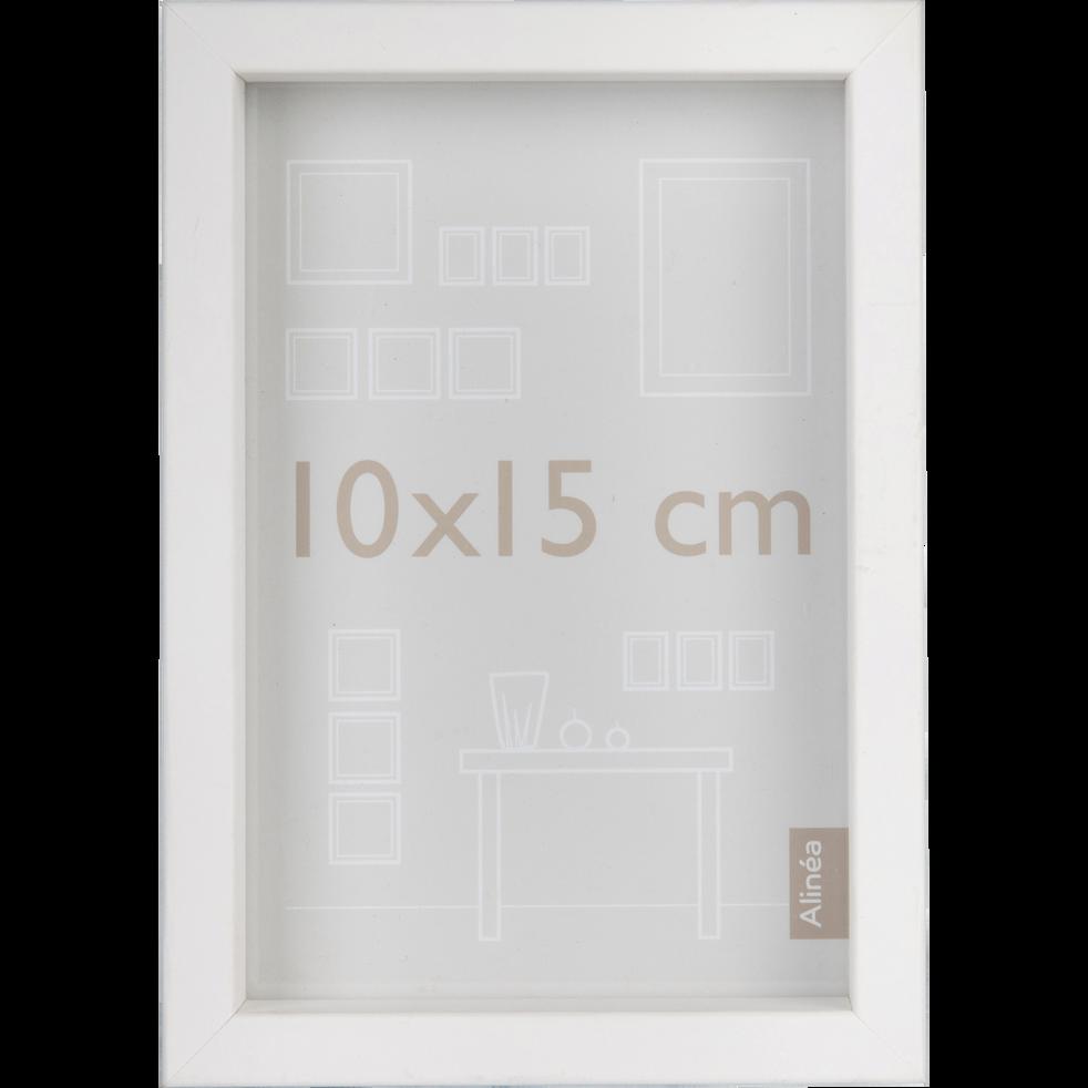 cadre photo en bois blanc plusieurs coloris et tailles. Black Bedroom Furniture Sets. Home Design Ideas