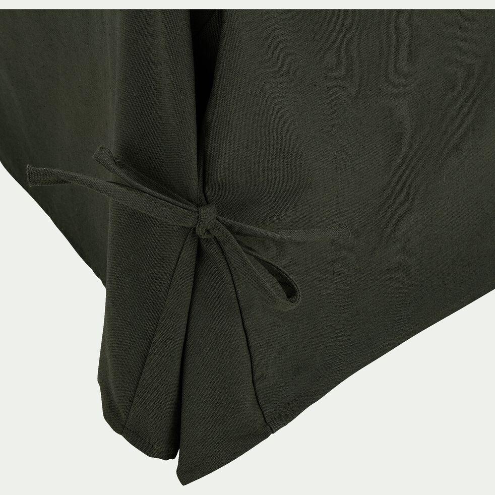 Housse pour clic-clac en polycoton - vert cèdre L140cm-PAULINE