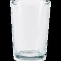 Lot de 6 verres transparents 19cl-OULE