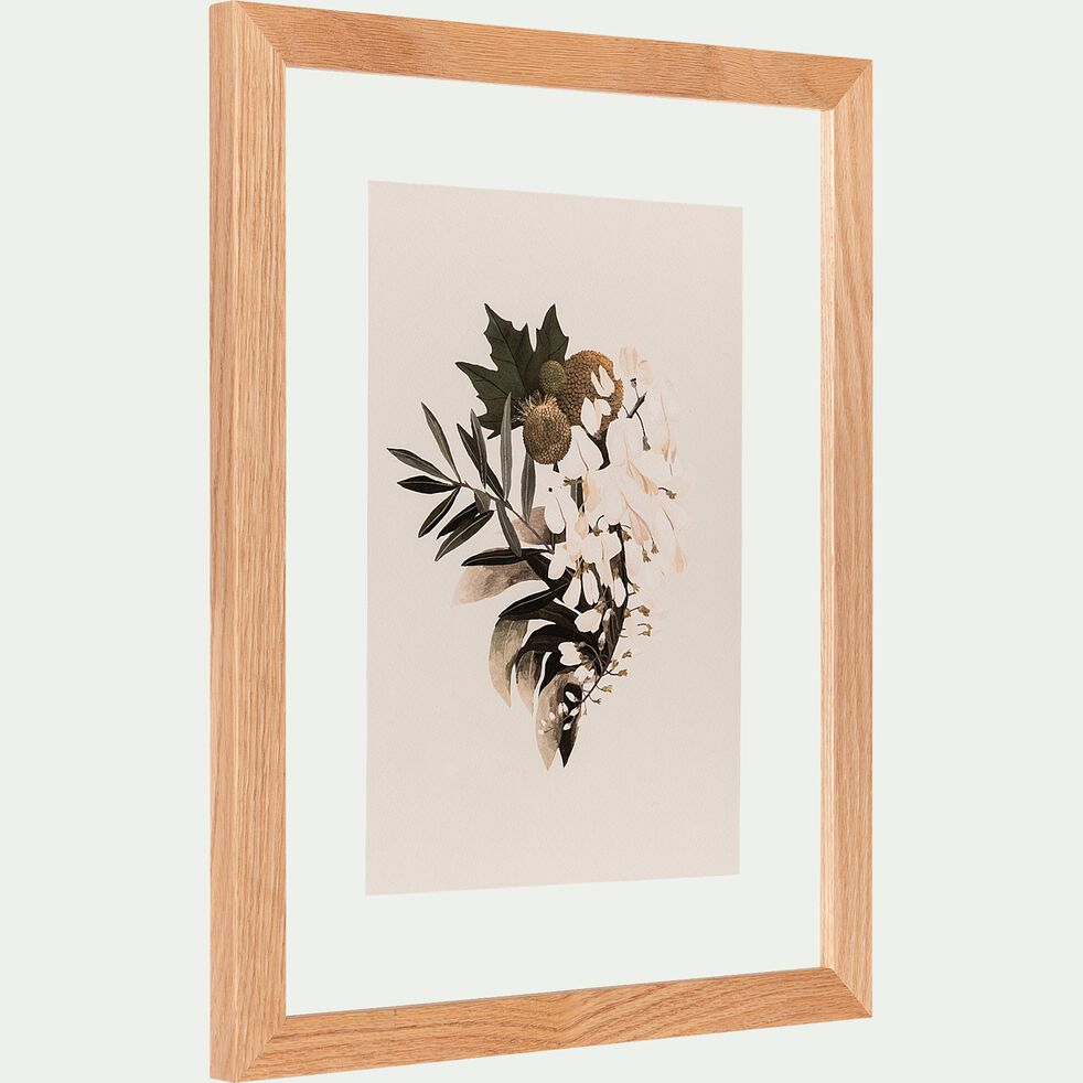 Image encadrée bouquet des sens 35x45cm-BOUQUET DES SENS