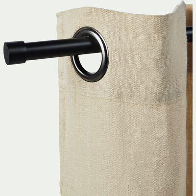 Kit tringle extensible en acier noir 170 à 300cm-MANON