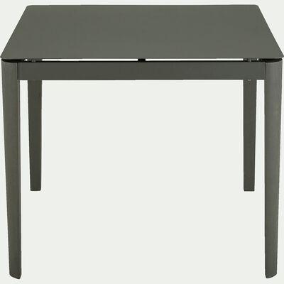 Table repas en aluminium - vert (4 places)-Estila
