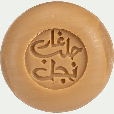 Savon d'alep nigelle rond - 100g-Wael