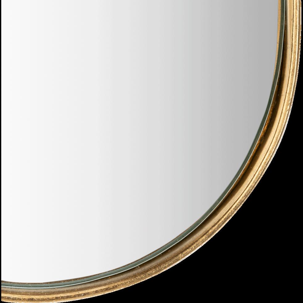 Miroir allongé cadre doré 60x17 cm-DOURO