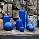 18 bougies chauffe-plats bleu myrte-HALBA