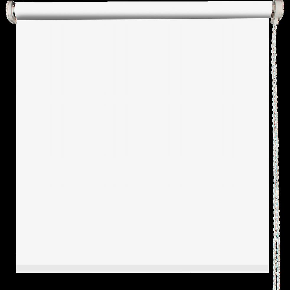 Store enrouleur occultant blanc 120x190cm-OCCULTANT