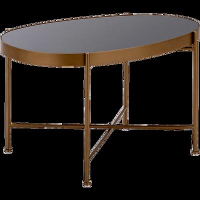 grande vente d9244 f0fdf Table basse - table basse ronde, bois & métal | alinea