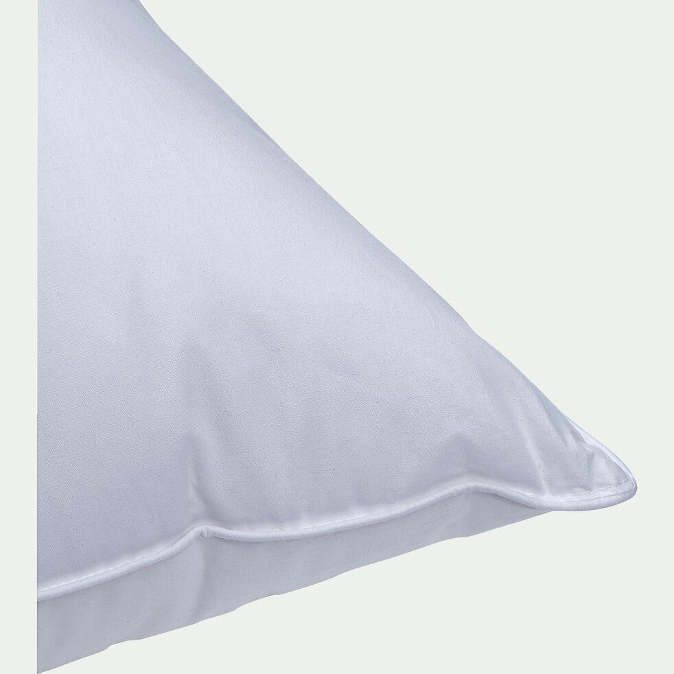 Oreiller à mémoire de forme avec microgel 45x70cm - blanc-MÉMOIRE FORME