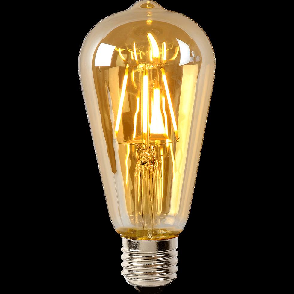 Ampoule décorative H14,6cm culot E27-POIRE