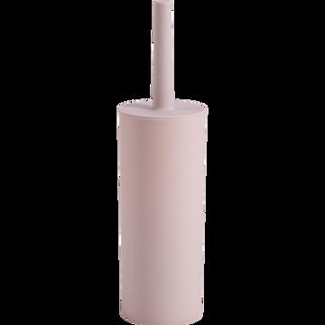 Balai et porte-balai WC rose pale-SOLY