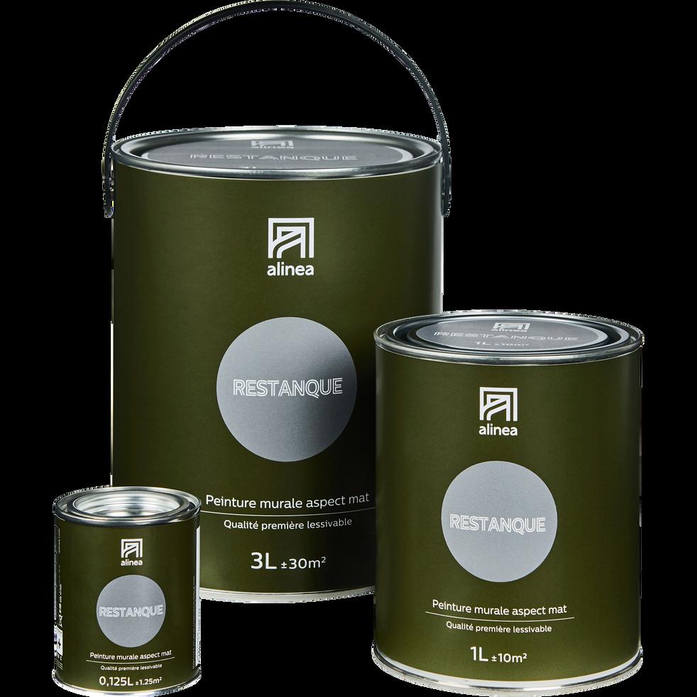 Peinture acrylique mate multi-supports 3L gris restanque-PEINTURE