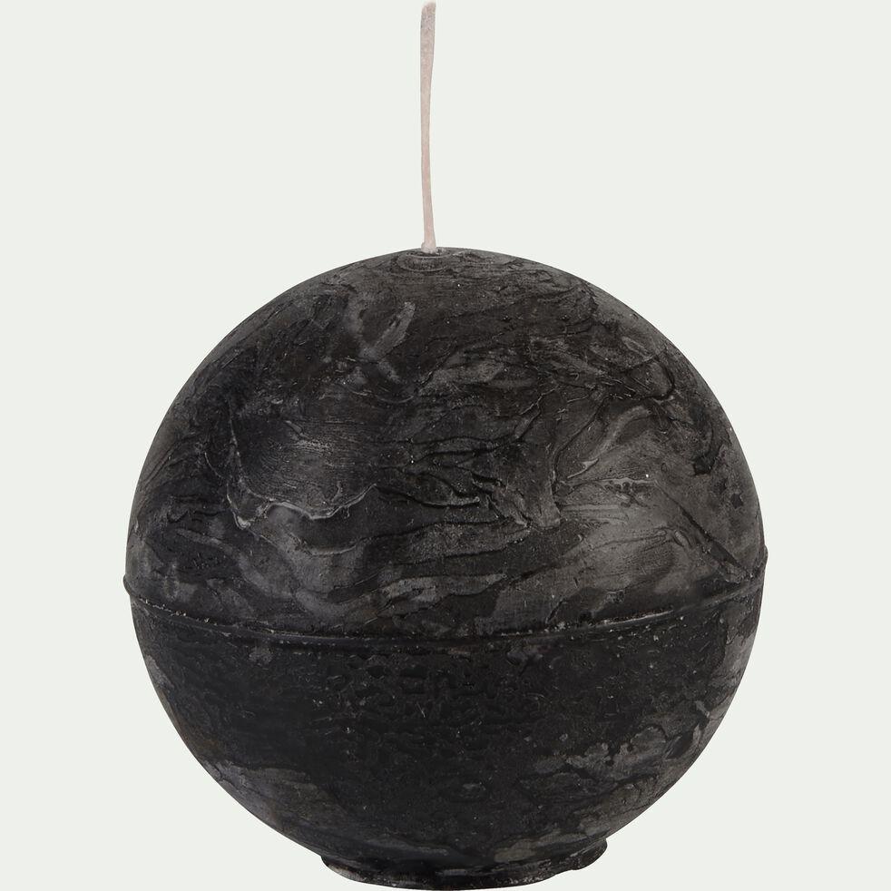 Bougie ronde gris calabrun D6cm-BEJAIA