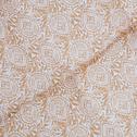 Matelas de bain de soleil capitonné beige estérel motif amande-EMILE