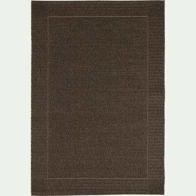 Tapis intérieur et extérieur - marron 120x170cm-KELLY