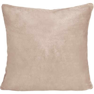 Housse de coussin effet doux rose argile 40x40cm-ROBIN
