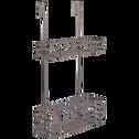 Étagère de douche en métal-SYLVIA