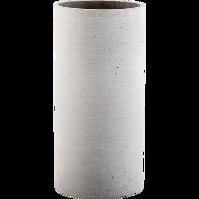 Vase effet béton H29cm-CALCIS