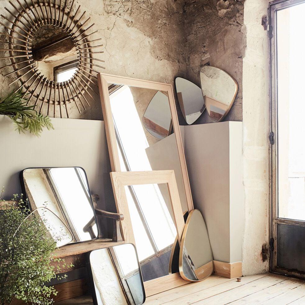 Miroir en chêne 69x89cm-EMBRUN