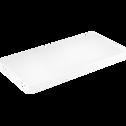 Tablette blanche L75cm-Lorena