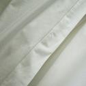 Drap plat en coton Blanc capelan 270x300cm-CALANQUES