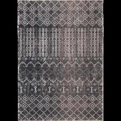 Tapis extérieur et intérieur à motifs bleu 120x170 cm-LISON