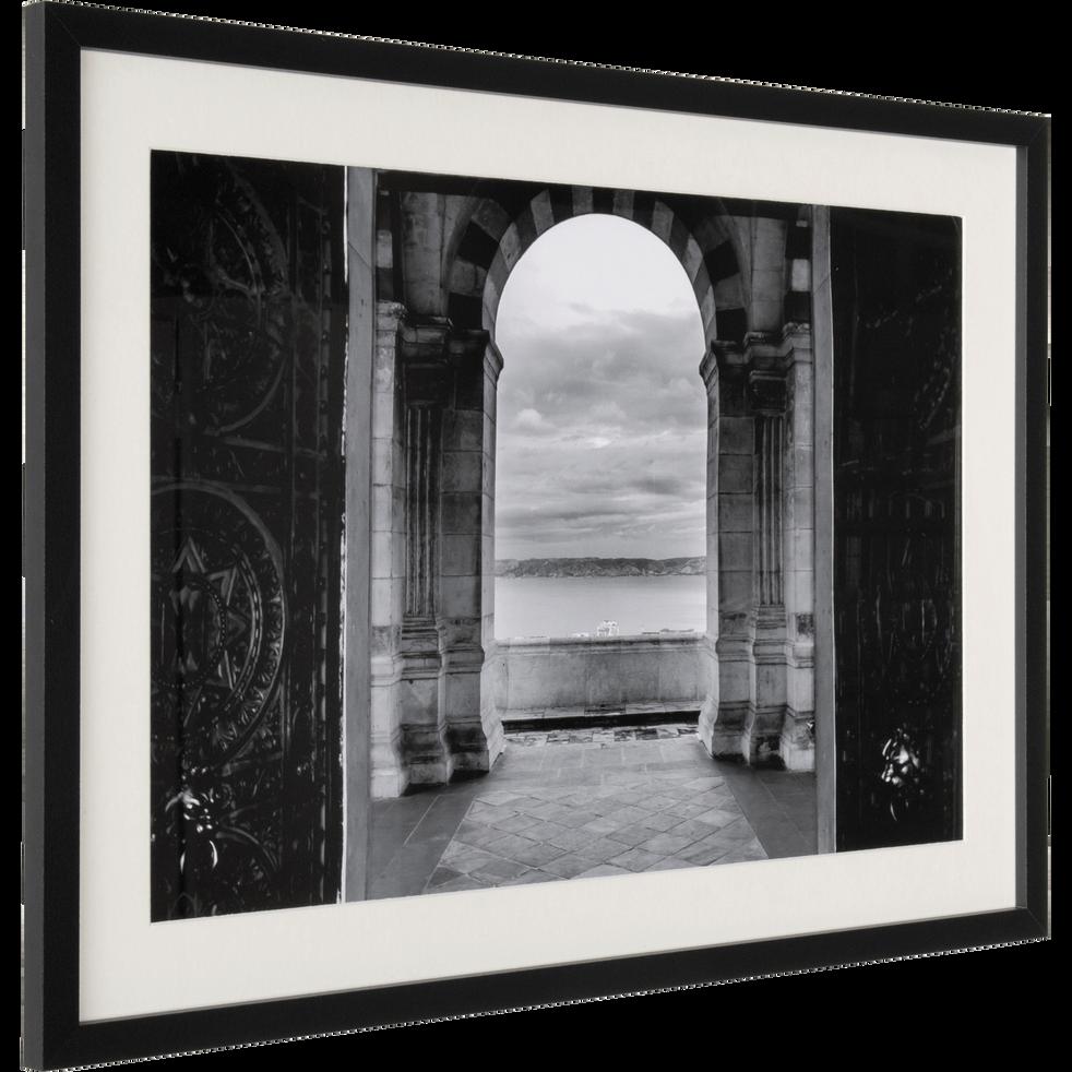 Image encadrée noir et blanc 50x70cm-BOTRINI
