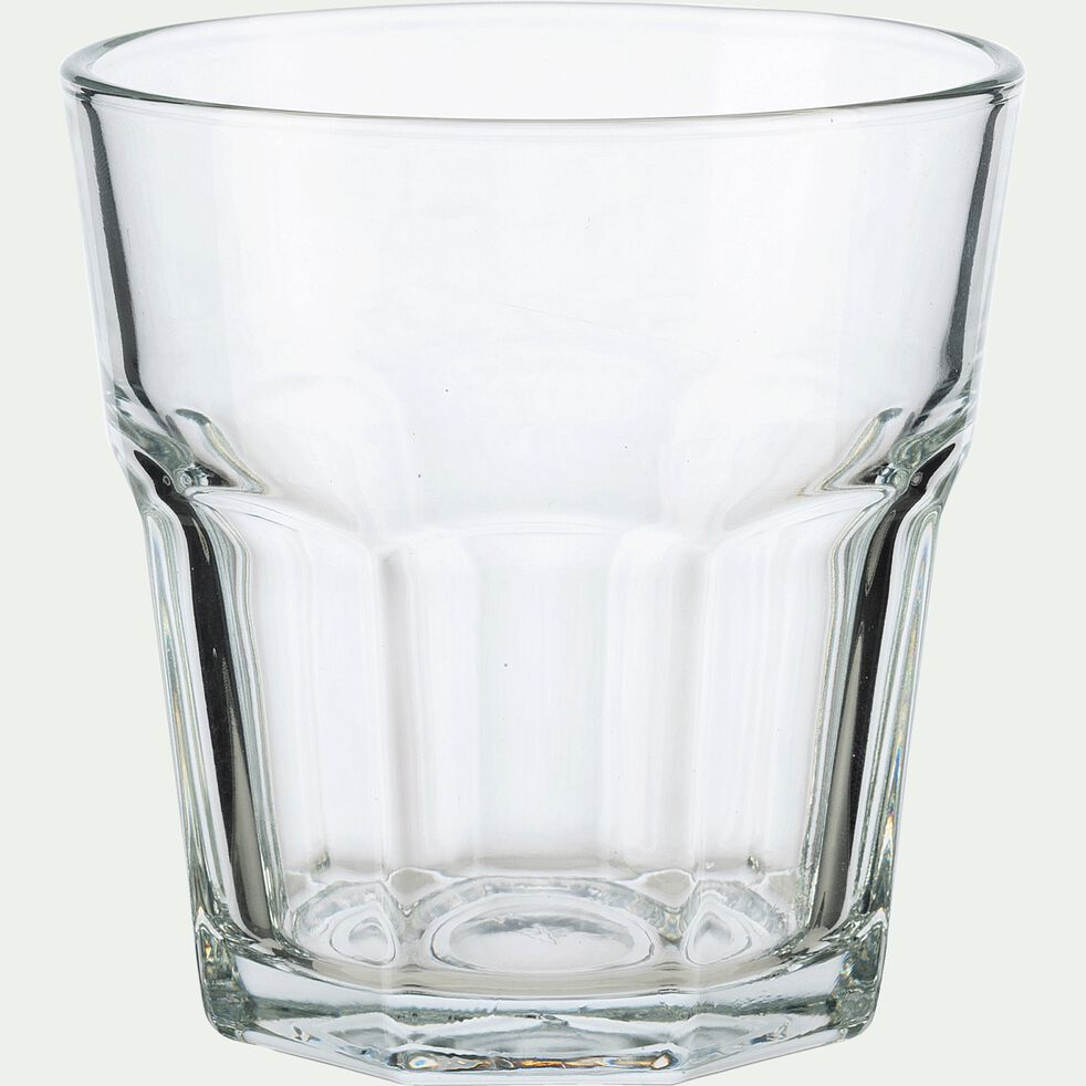 Verre transparent en verre forme haute 30cl-CHICAGO