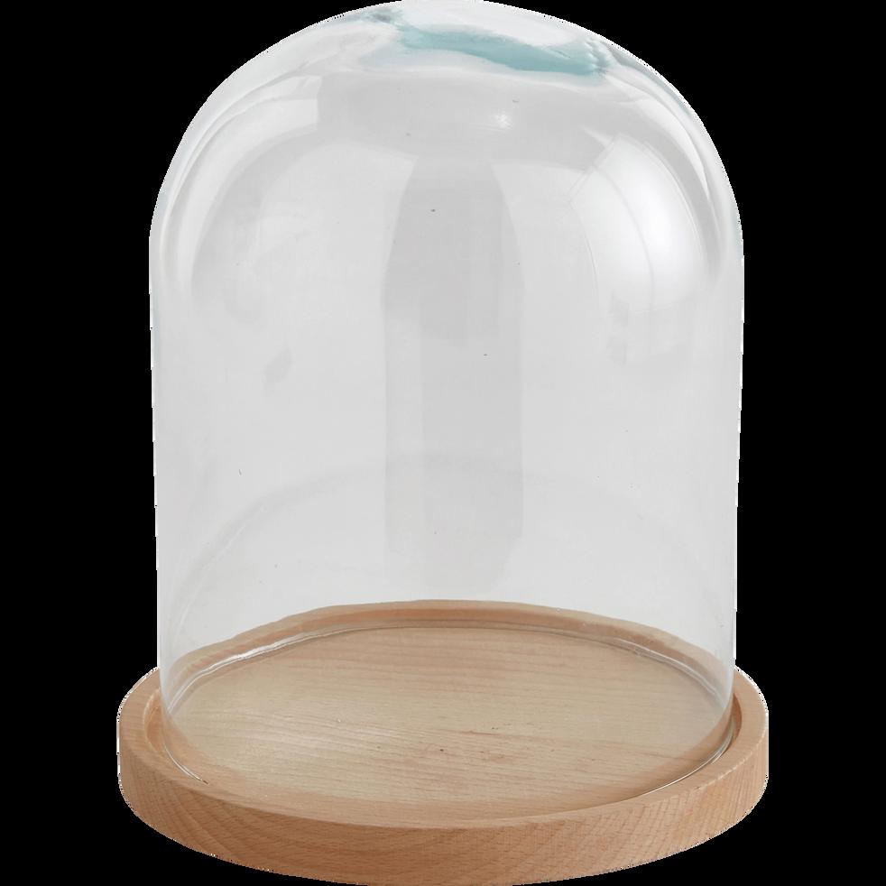 cloche en verre transparent h23cm lagune d co alinea. Black Bedroom Furniture Sets. Home Design Ideas