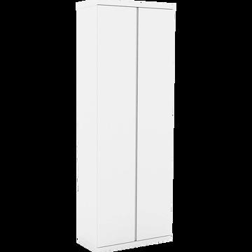 2 portes 75x200cm - blanc-LORENA