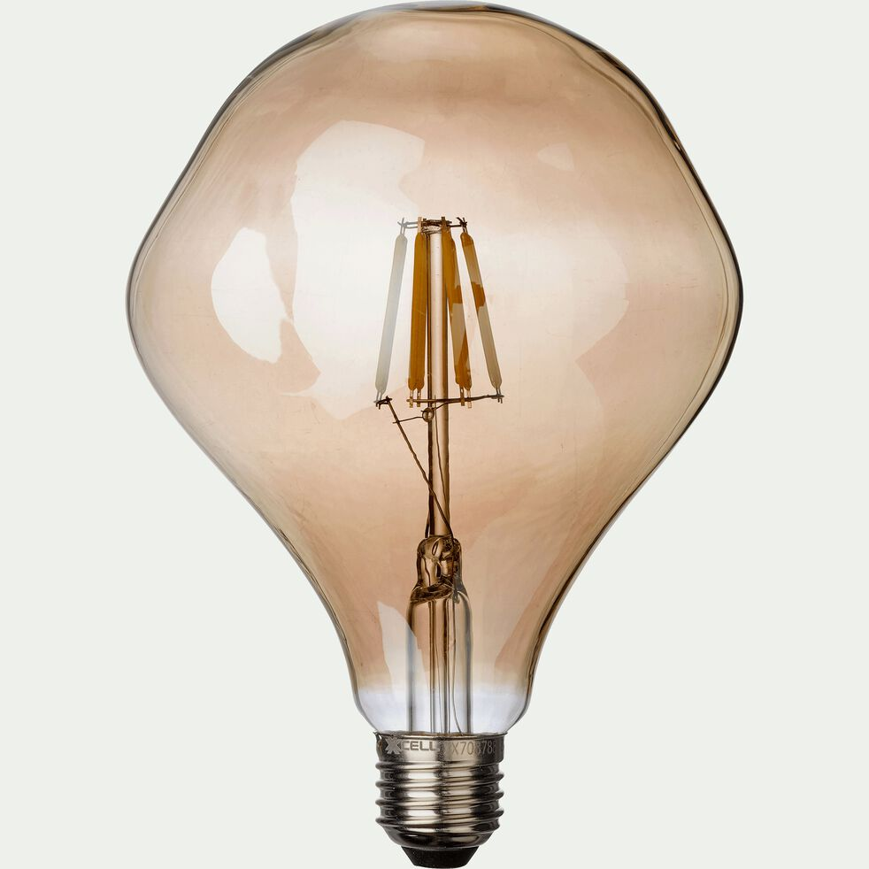 Ampoule décorative LED grise D12,5cm culot E27-CABOSSE