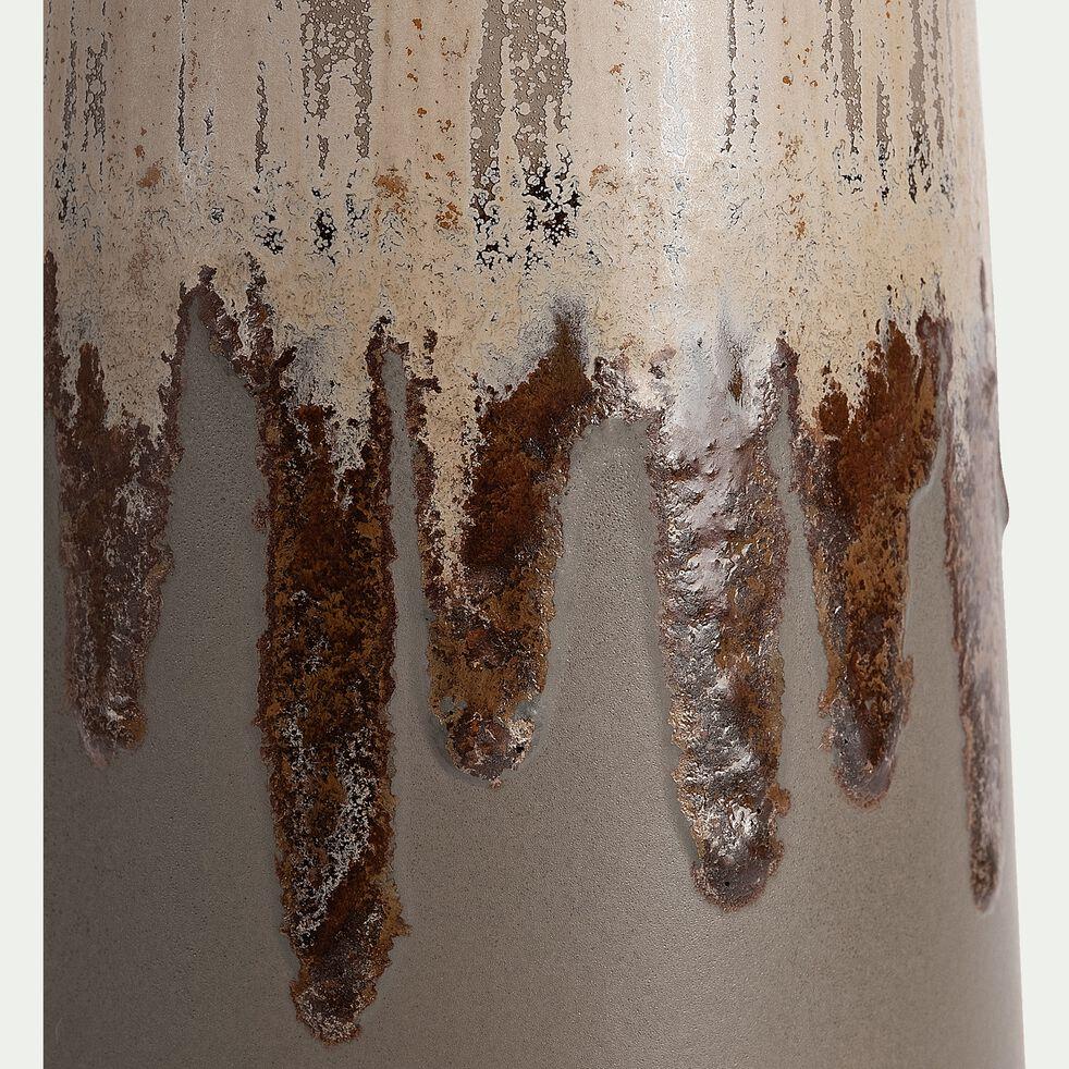 Vase en céramique - vert D13xH45cm-PATRIZIU