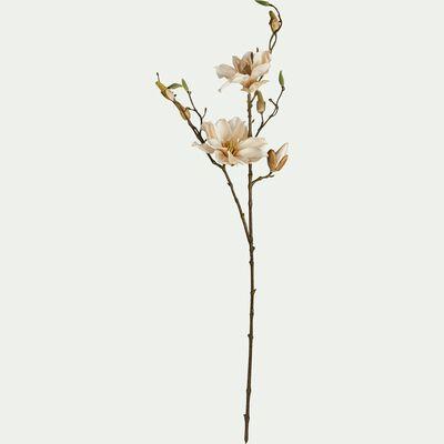 Fleurs de magnolia artificielles - rose pale H86cm-MAGNOLIA